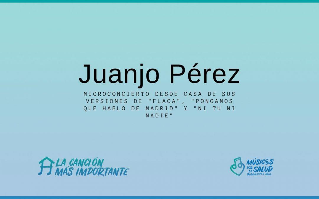 Microconcierto desde casa -Juanjo Perez